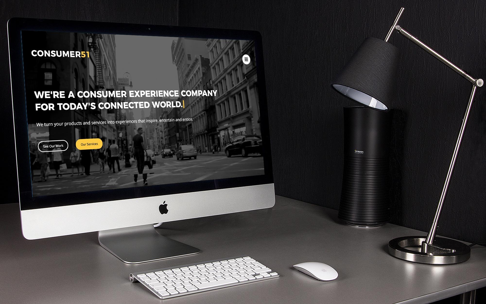 Consumer51's redesigned website